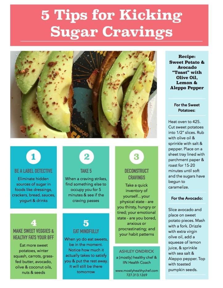 5 Tips for Kicking Sugar Cravings Guide